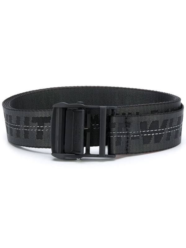 OFF-WHITE INDUSTRIAL LOGO BELT (BLACK)