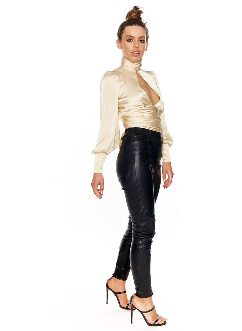 ORSEUND IRIS NIGHT OUT TOP (CHAMPAGNE)