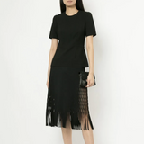 DION LEE FRINGED SKIRT