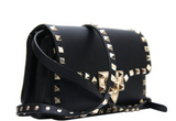 VALENTINO STUDDED SLING BAG (BLACK)