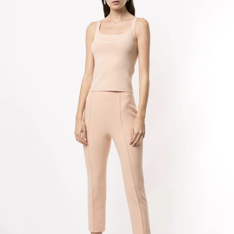 DION LEE HOSIERY STIRRUP TOP (SANDSTONE)