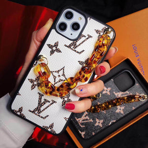 Fashion New  LV With Chain iPhone Case