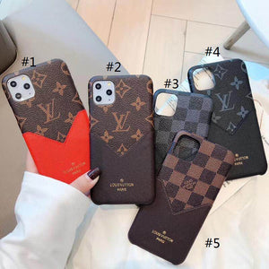 Fashion LV Card iPhone Case