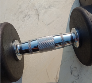 Brand New 2 x 5kg Rubber Dumbbells