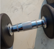 Load image into Gallery viewer, Brand New 2 x 12.5kg Rubber Dumbbells