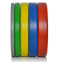 Load image into Gallery viewer, Brand New Wild Animals 2 x 25kg Coloured Olympic Bumper Plates