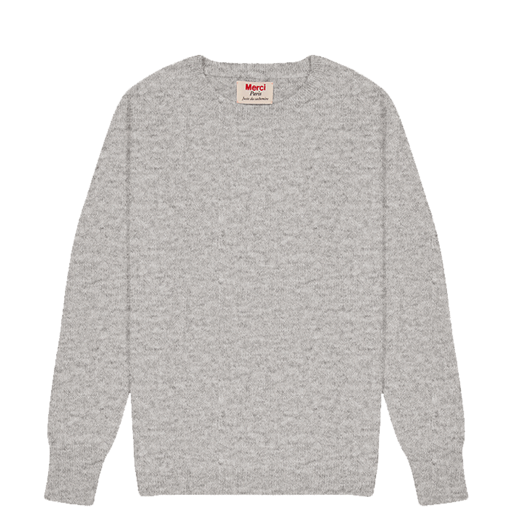 Pull en cachemire Anna - Gris Taille 2