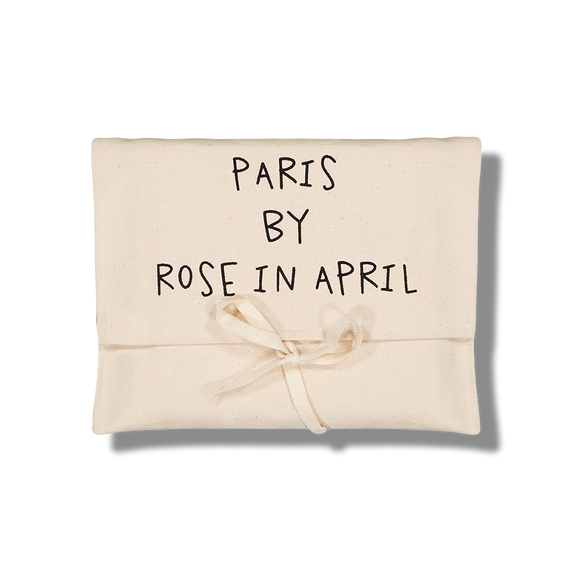 Carte de Paris en coton - Rose in April