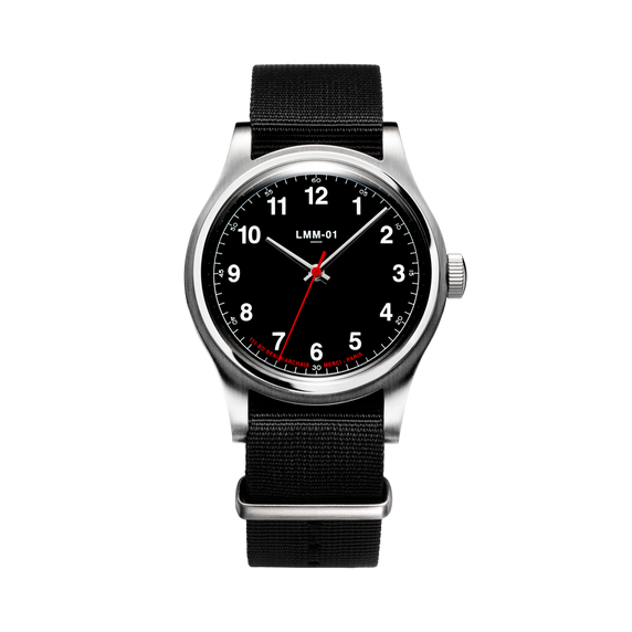 LMM-01 Original Montre Quartz en Noir