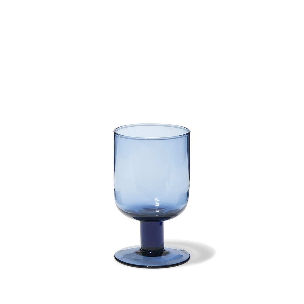 Verre à vin Bloom - Bleu