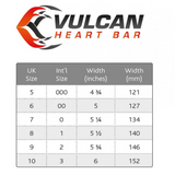 Vulcan Steel Straight Bar