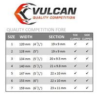 Vulcan Quality Competition Front Toe-Clipped