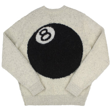 Stussy 8 Ball Heavy Brushed Mohair Crewneck