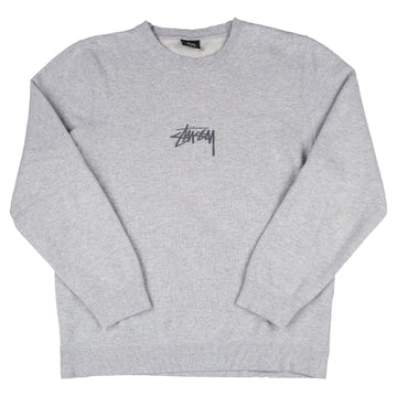 Stussy Small Embroidered Logo Crewneck