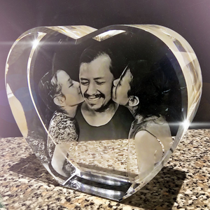 3D Crystal Heart