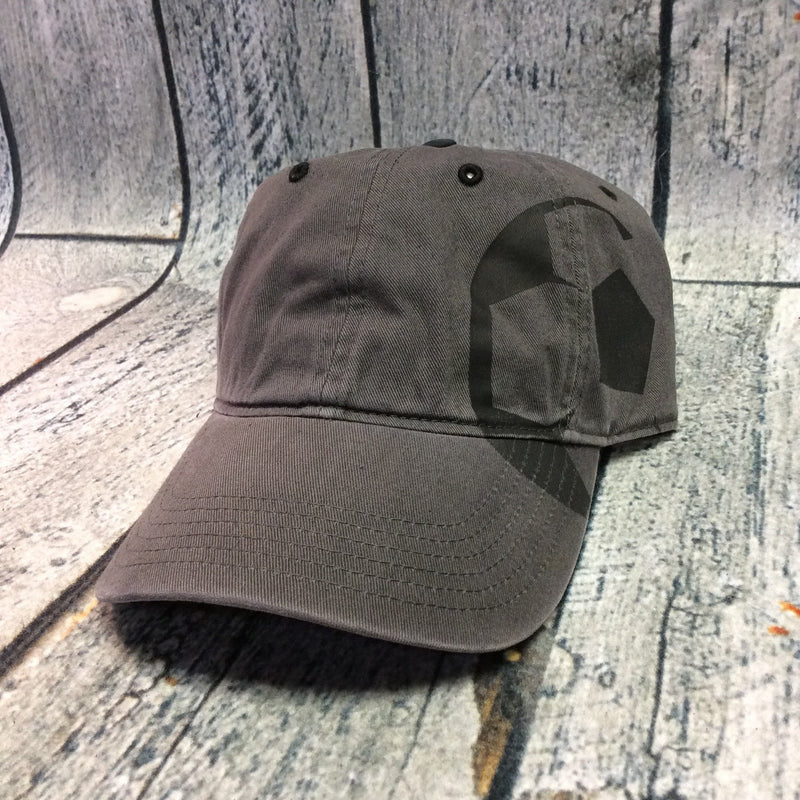 Okie - Charcoal Grey Soccer Cap