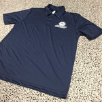 SWOSU All White Navy Dri-Fit Polo
