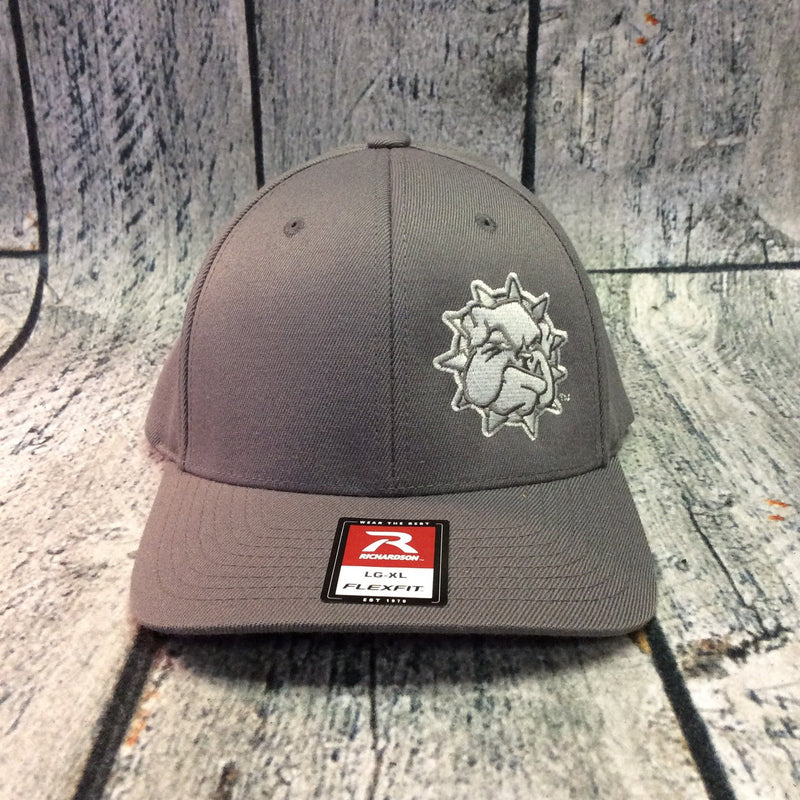 SWOSU - Charcoal Fitted Cap - Grey Bulldog