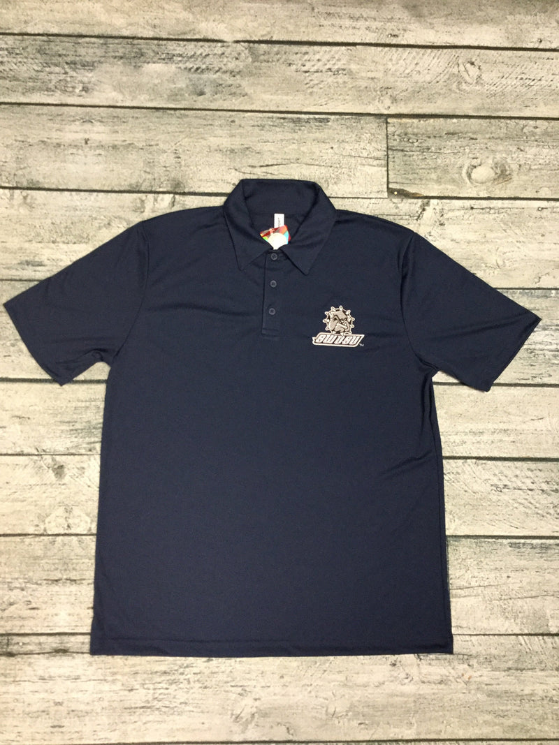 SWOSU Full Color Navy Dri-Fit Polo