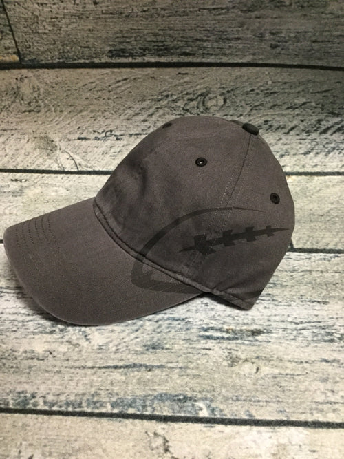 Okie - Charcoal Grey Football Cap