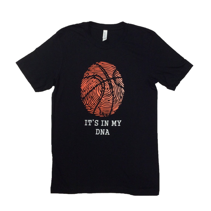 Okie - It's In My DNA Basketball - Short Sleeve Tee