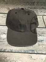 Okie - Charcoal Grey Basketball Cap