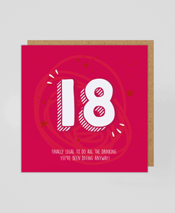 18th - Greetings Card
