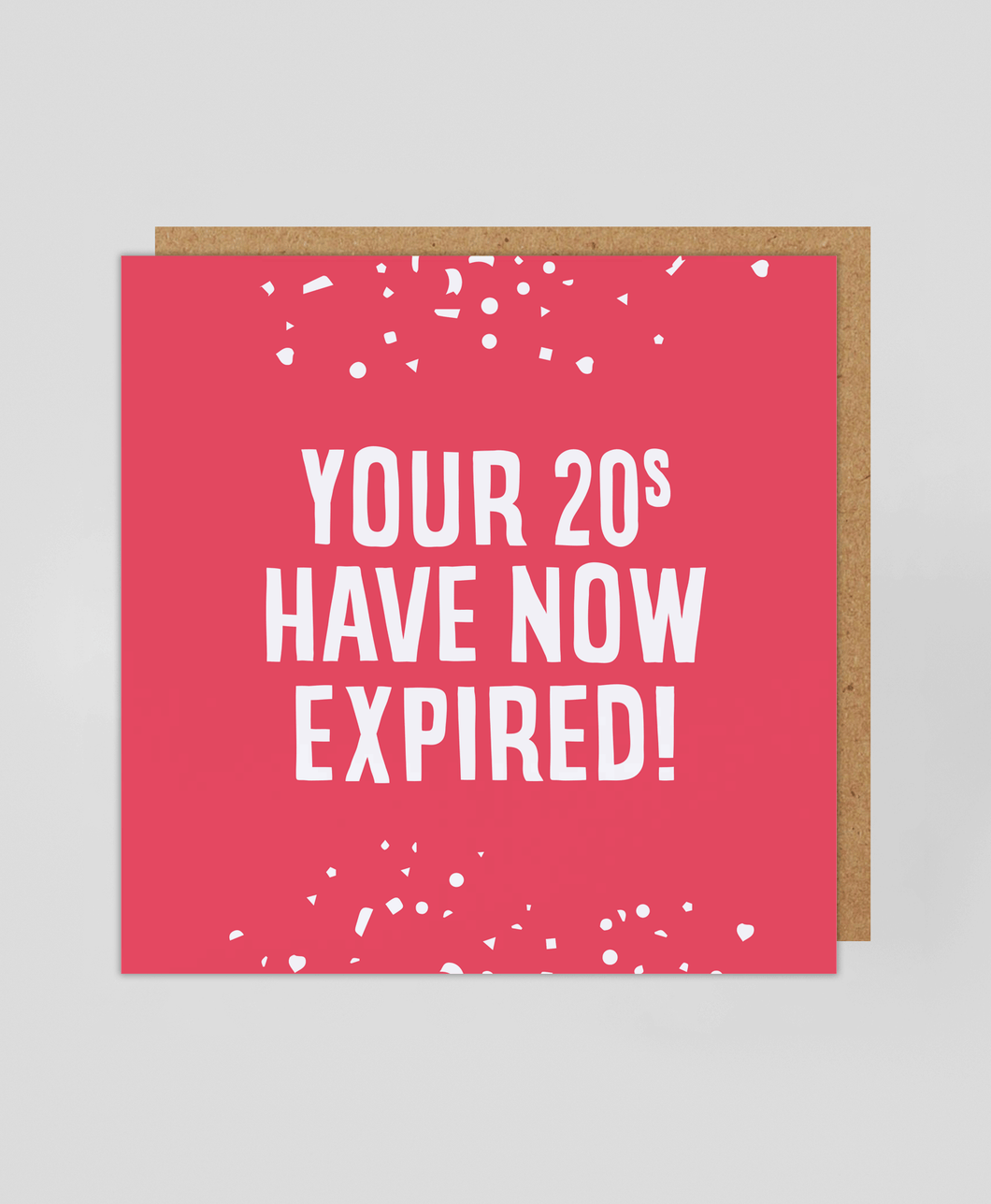 20s Expired - Greetings Card