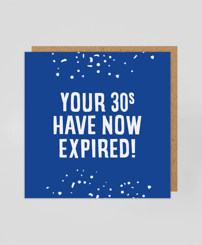 30s Expired - Greetings Card