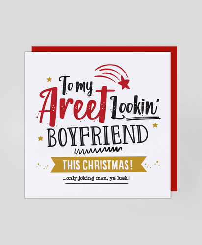 Areet Boyfriend - Christmas Card