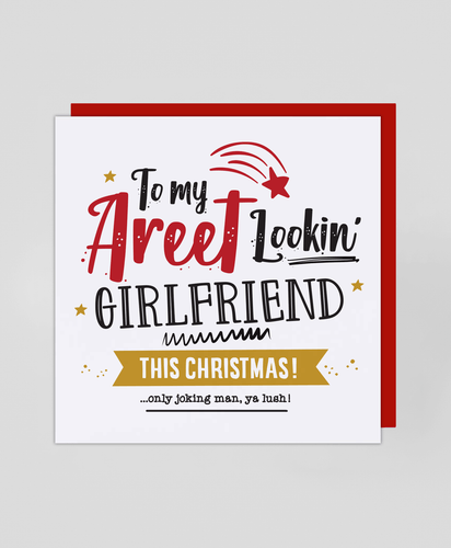 Areet Girlfriend - Christmas Card