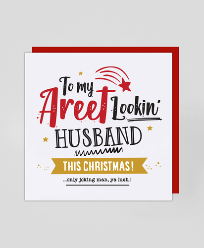 Areet Husband - Christmas Card