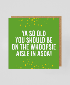 ASDA - Greetings Card