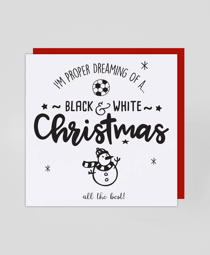 Black & White - Christmas Card