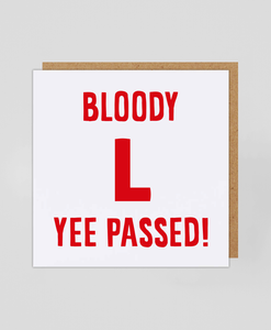 Yee Passed! - Greetings Card