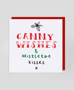 Canny Wishes - Christmas Card