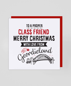 Friend Geordieland - Christmas Card