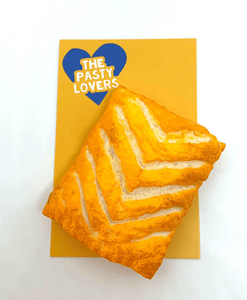 Greggs Cheese Pasty - Fridge Magnet