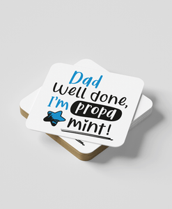 Dad Propa Mint - Coaster