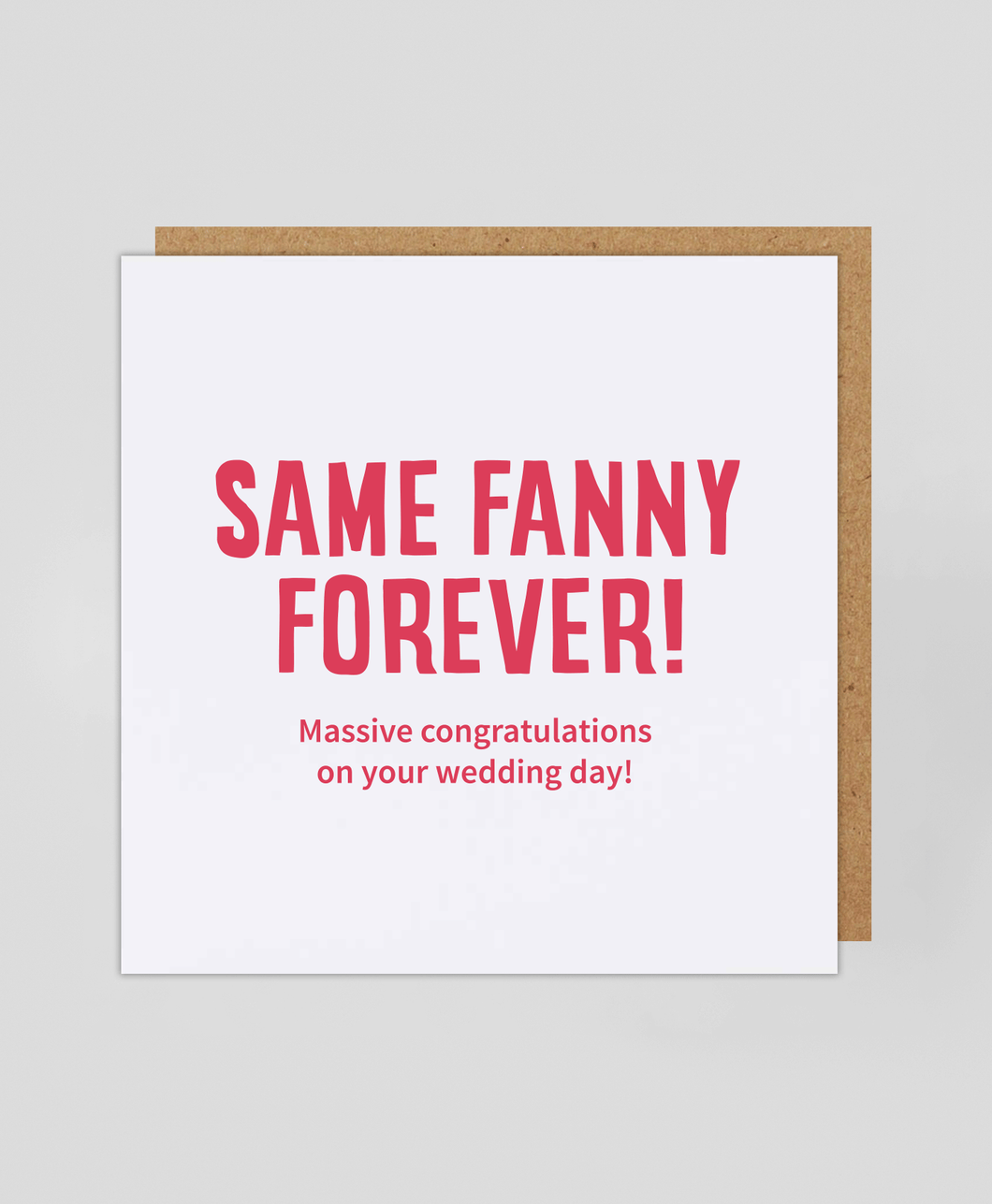 Fanny Forever - Greetings Card