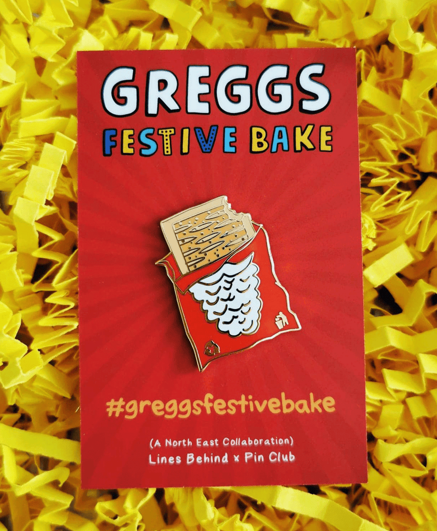 Festive Bake - Enamel Pin Badge