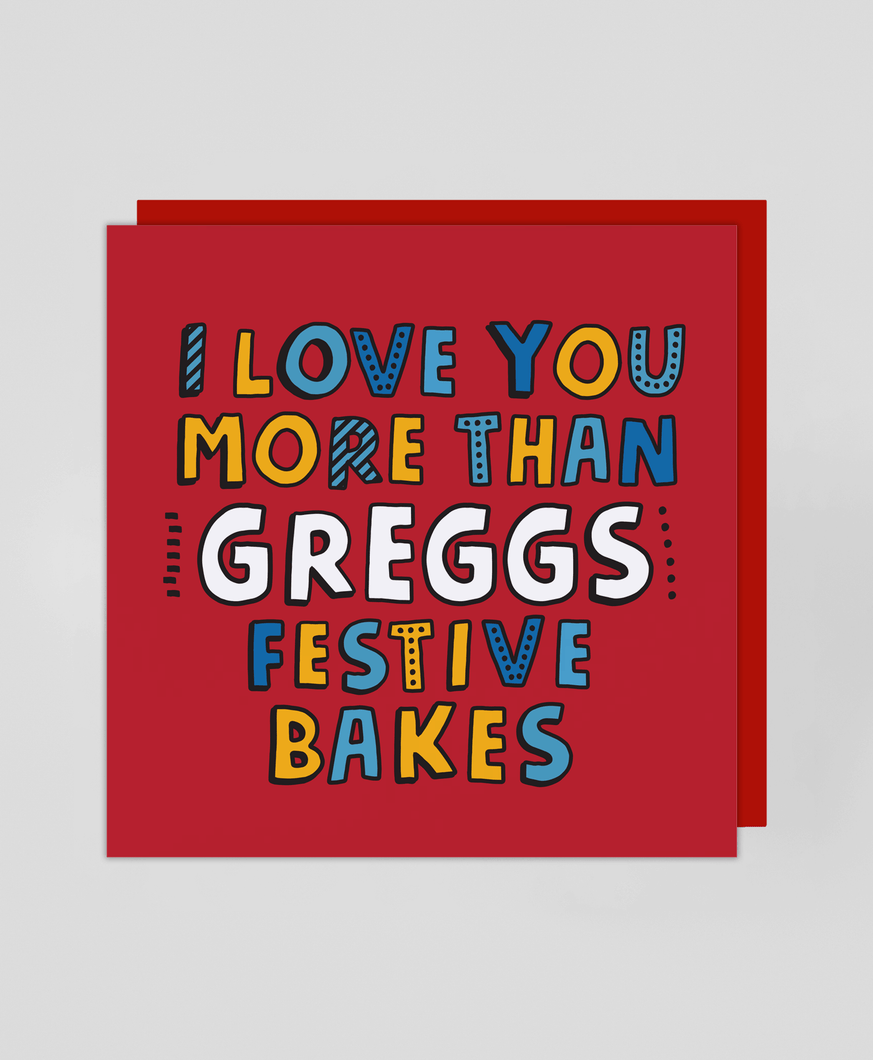 Festive Bake - Christmas Card