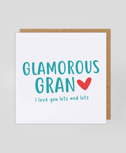 Glamorous Gran - Greetings Card