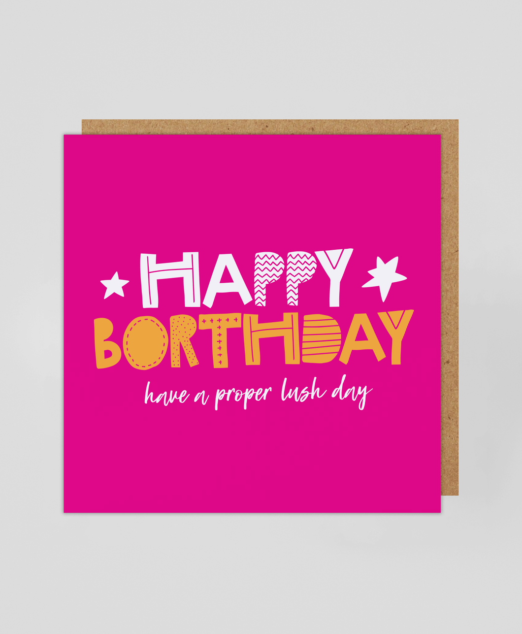 Happy Borthday (P) - Greetings Card