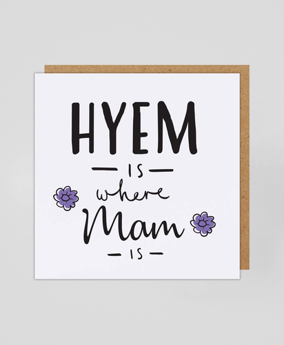 Mam Hyem - Greetings Card