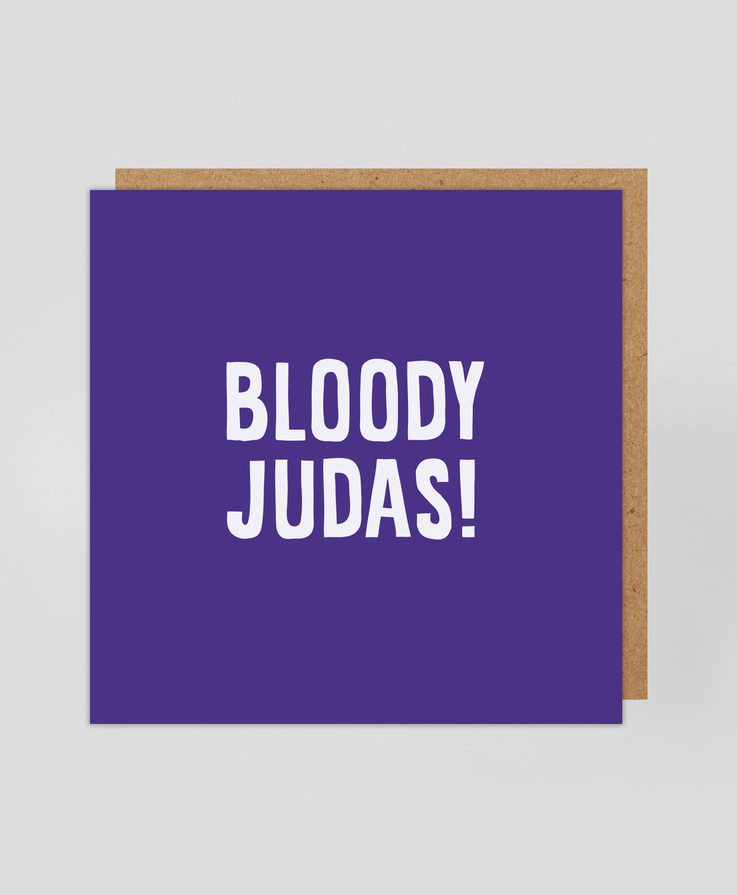 Bloody Judas - Greetings Card