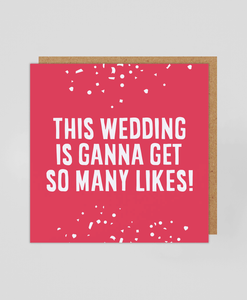 So Many Likes - Greetings Card