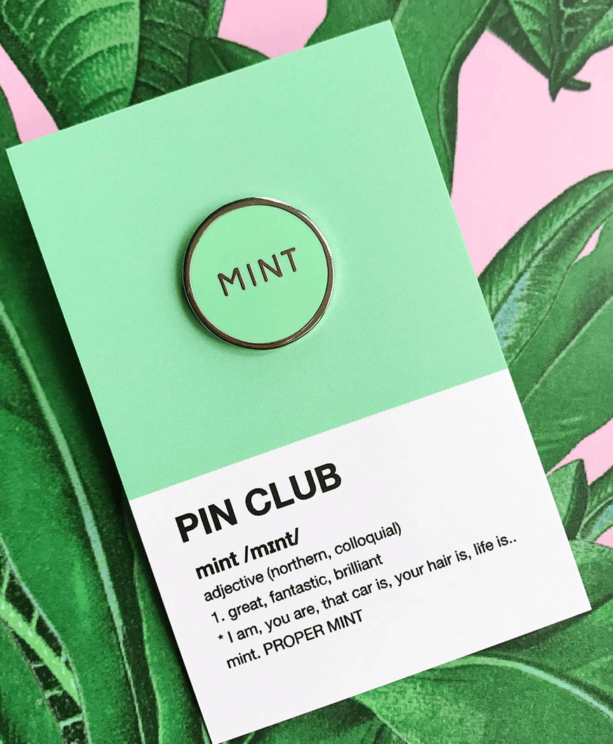 Mint - Enamel Pin Badge