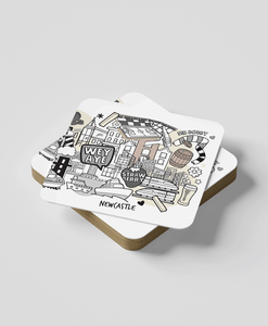 Newcastle (set of 2) - Coasters