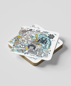 North Shields (Set of 2) - Coasters